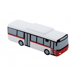Рекламна антистрес фигурка за брандиране - Автобус