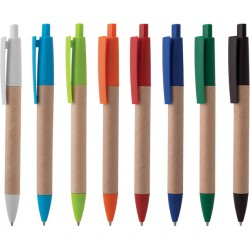 Рекламна еко химикалка от рециклирана хартия