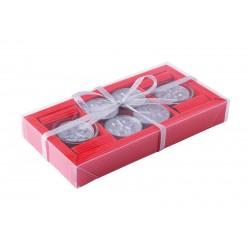 Комплект коледни свещи в кутия
