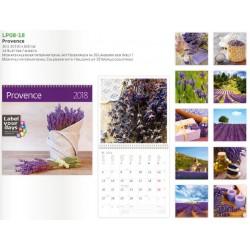 Луксозен многолистов календар Provence 2018