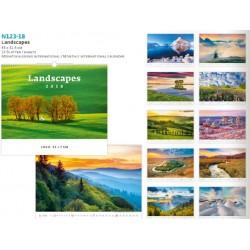 Луксозен многолистов календар с възможност за рекламен печат