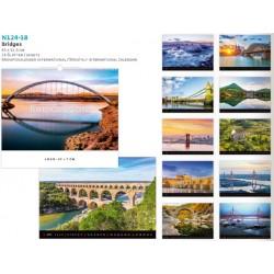Рекламен календар за 2018 година посветен на Мостове