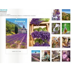 Многолитов календар за 2018 година - Provence