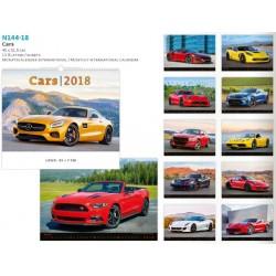 Рекламен луксозен календар Cars 2018