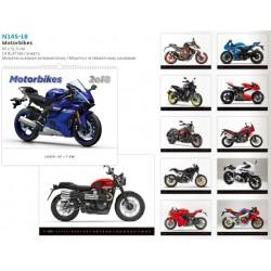 Луксозен 14 листов календар Motorbikes 2018