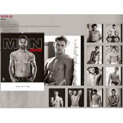 Луксозен календар 14 листа Men 2018