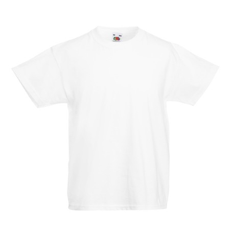 Олекотена детска тениска за печат Fruit of the Loom