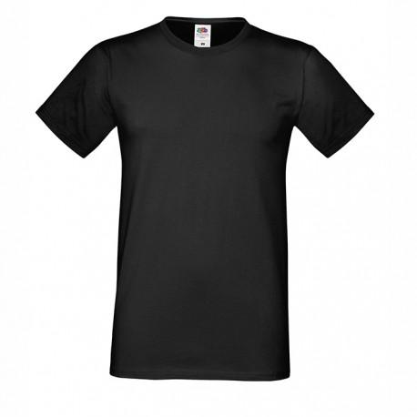Модерна мъжка тениска с тънко бие Fruit of the Loom