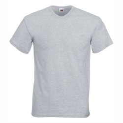 Мъжка тениска с V-образно деколте Fruit of the Loom