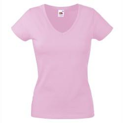 Дамска тениска с дълбоко V-образно деколте Fruit of the Loom