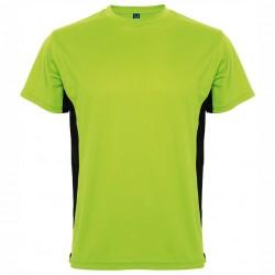 Двуцветна рекламна тениска за брандиране Roly