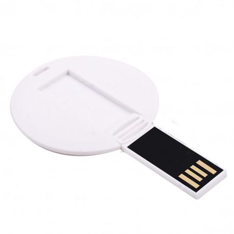 Рекламна USB памет с овална форма