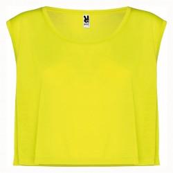 Рекламна дамска тениска без ръкави Roly