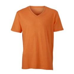Мъжка тениска с V-деколте James & Nicholson