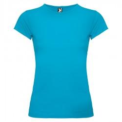 Вталена дамска тениска с къс ръкав Roly