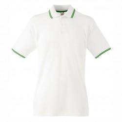 Мъжка рекламна риза с цветна лента на яката Fruit of the Loom
