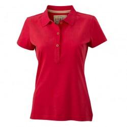 Вталена дамска памучна риза James & Nicholson