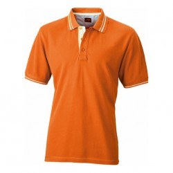 Висококачествена мъжка риза с контрастни линии James & Nicholson