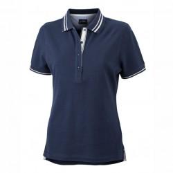 Висококачествена дамска риза с контрастни линии James & Nicholson