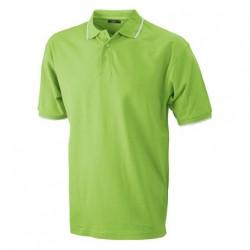 Рекламна мъжка риза с контрастни линии James & Nicholson