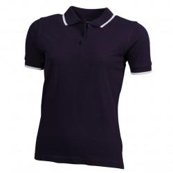 Вталена дамска риза с контрастни линии James & Nicholson