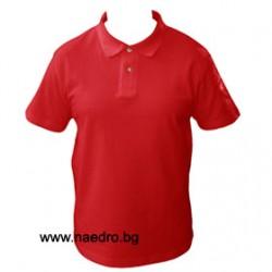 Мъжка памучна тениска с яка Keya