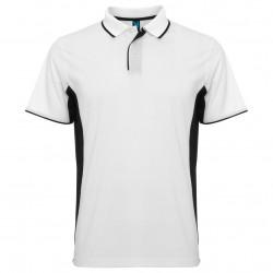 Двуцветна мъжка риза от дишаща полиестърна материя Roly