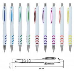 Бюджетна пластмасова химикалка за брандиране