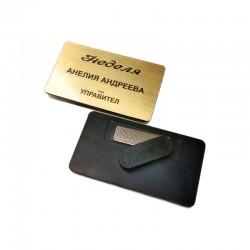 Рекламен акрилен бадж тип плочка в произволна форма