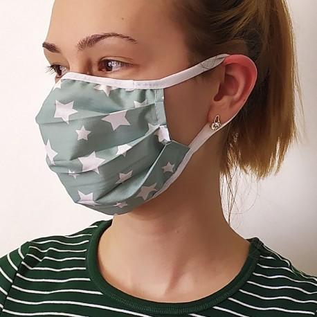 Защитна маска за многократна употреба с джоб с възможност на фирмен печат