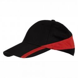 Шест панелна двуцветна шапка Roly
