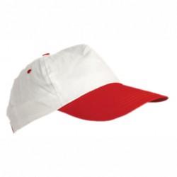Пет панелна шапка с различен цвят на козирката Roly