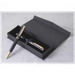 Стилен комплект химикалка и ролер в кутия