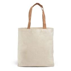 Рекламна пазарска чанта,с коркови дръжки