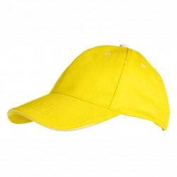 Детска шапка с контрастен ръб на козирката Roly