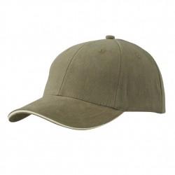 Памучна шапка с двуцветна козирка Myrtle Beach