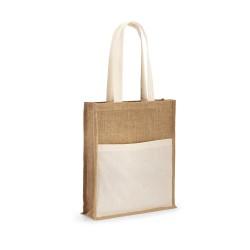 Рекламна пазарска еко чанта от юта