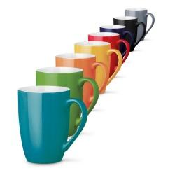 Рекламна керамична чаша с цветна външност