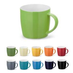 Цветна керамична чаша в кутия