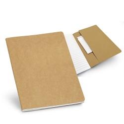 Бюджетен бележник А5 с картонена корица и джоб