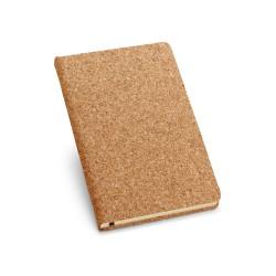 Рекламен еко бележник от корк формат А5 за брандиране
