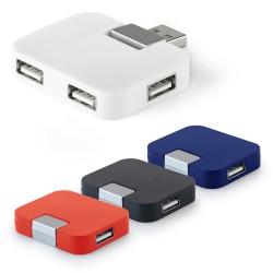 Рекламен USB 2,0 хъб с 4 порта за брандиране