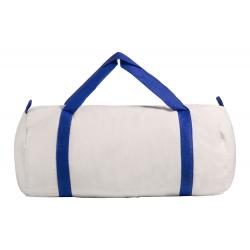Памучна спортна чанта с цветни дръжки за брандиране