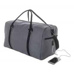 Спортна чанта с вграден USB конектор за батерия