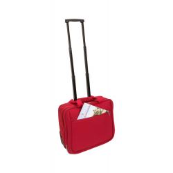 Пътна чанта с колелца и телескопична дръжка за брандиране