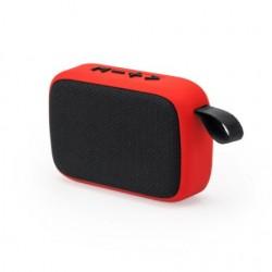 Рекламна безжична Bluetooth колонка с гумено тяло и каишка