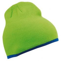 Плетена шапка с контрастен ръб Myrtle Beach
