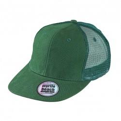 Шест панелна памучна хип хоп шапка Myrtle Beach