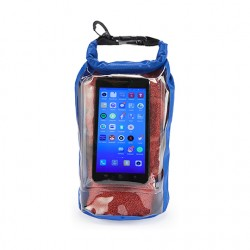 Рекламна водоустойчива чанта с прозрачен джоб за таблет или смартфон