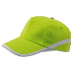 Бейзболна рекламна шапка с отразяваща лента